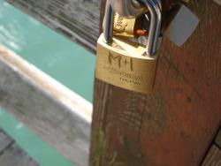 padlock of love