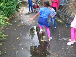 Puddle Long Jump