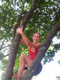 Lottie Child International Tree Climbing Day, Rio